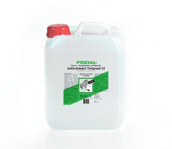 Глубокопроникающий биоцидный грунт  FEIDAL Antischimmel Tiefgrund