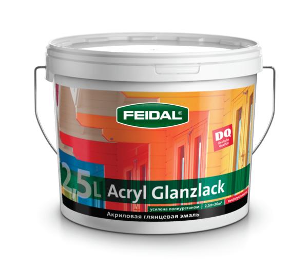 Эмаль глянцевая акриловая FEIDAL Acryl Glanzlack