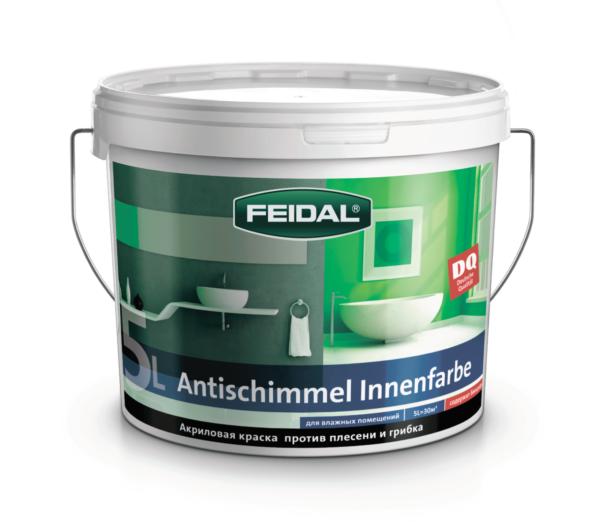 Краска против плесени и грибка FEIDAL Antischimmel Innenfarbe