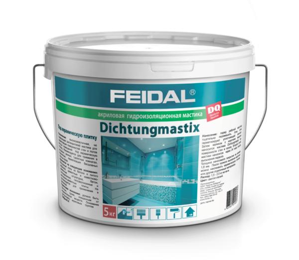 Экономичная гидроизоляция FEIDAL Dichtungmastix