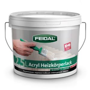 Эмаль термостойкая акриловая для радиаторов  FEIDAL Acryl Heizkorperlack