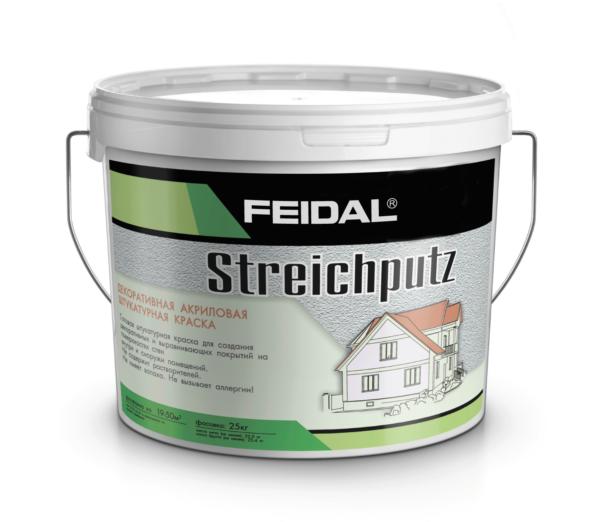 Структурная штукатурка под валик и кисть FEIDAL Streichputz