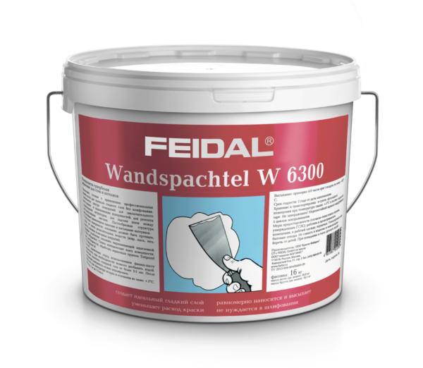 Латексная финишая шпатлевка FEIDAL Wandspachtel S