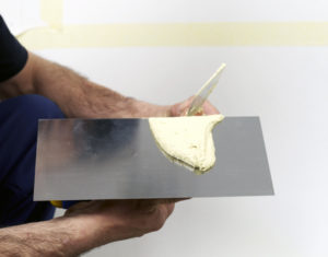 Техника нанесения штукатурки короед FEIDAL REIBEPUTZ