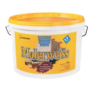 Акриловая краска WORKER Malerweiss