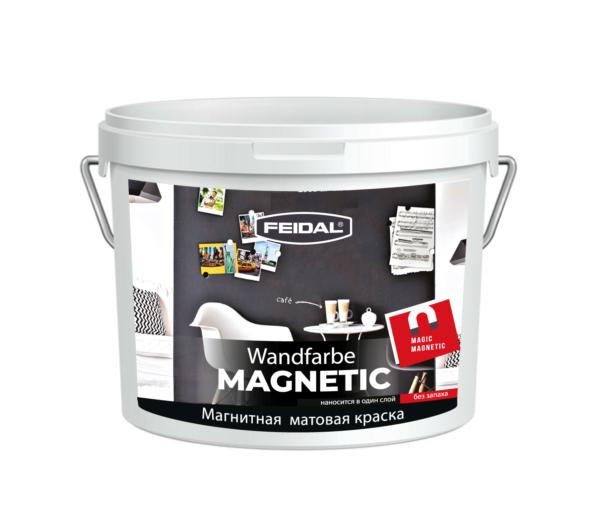 Краска магнитная FEIDAL Wandfarbe MAGNETIC